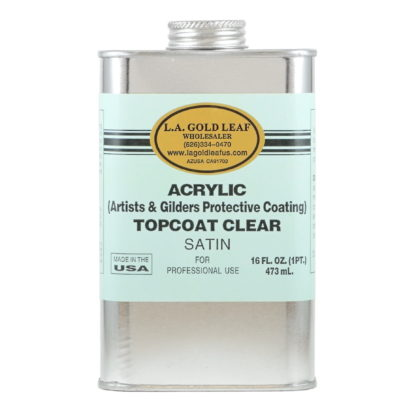 Acrylic Satin Topcoat 16oz