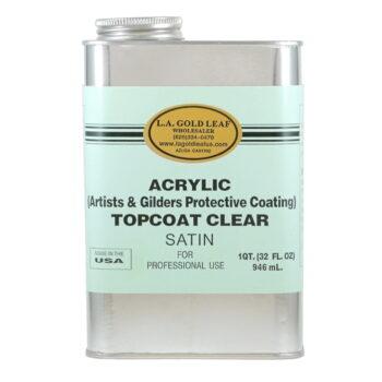 Acrylic Satin Topcoat 32oz