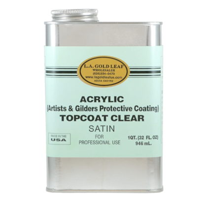Acrylic Satin Topcoat 32oz