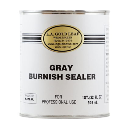 Gray Primer Burnish Sealer 32oz