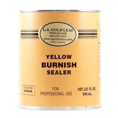 Yellow Primer Burnish Sealer 32oz