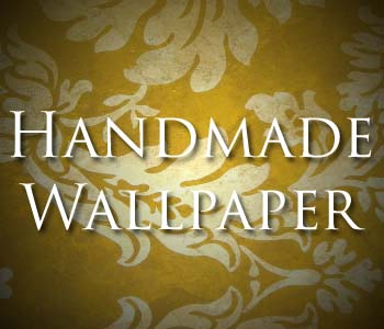 Buy Handmade Gold Leaf Wallpaper