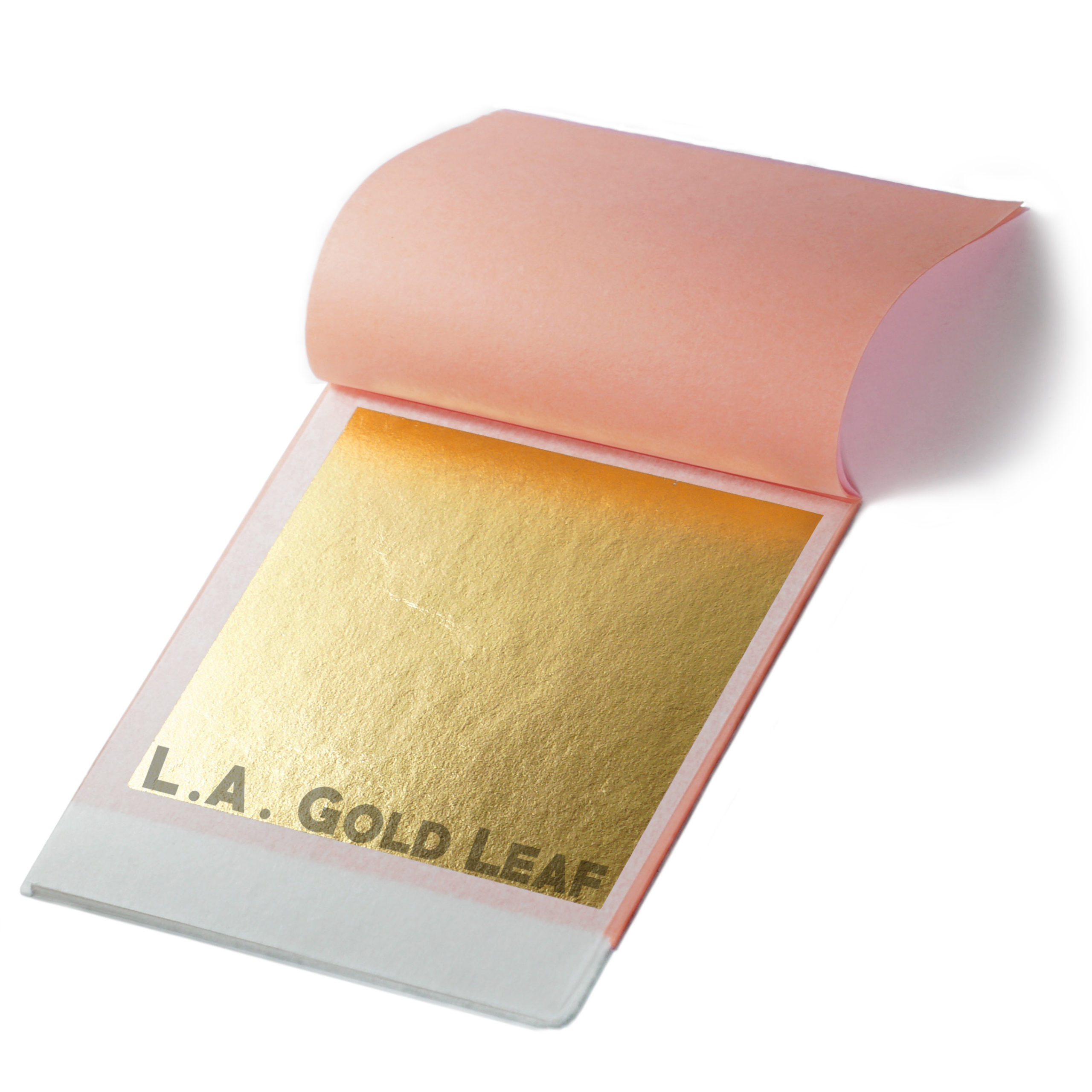 """L.A Metal Gilding//Leafing  Brush 5/"""" Gold Leaf"""